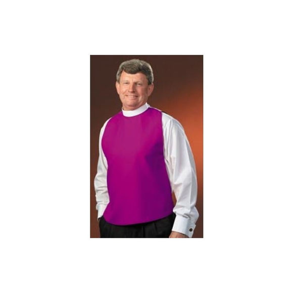 161 Church Purple Shirtfront - Neckband Collar Style