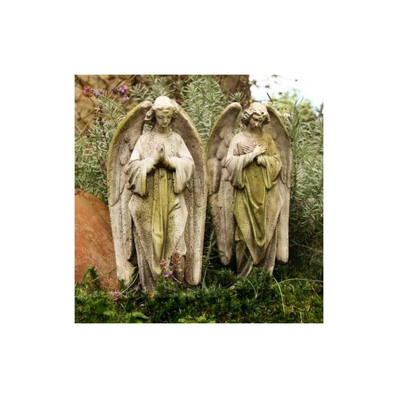 FS064 Praying Angels Statue Set