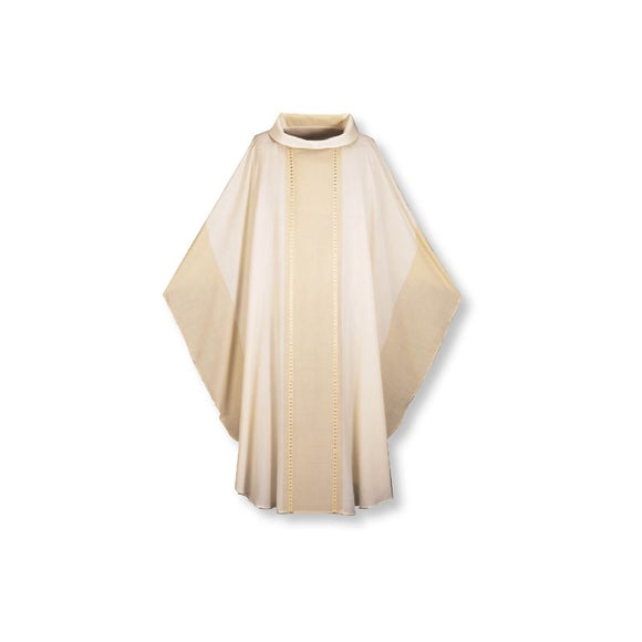 White Gothic Chasuble-1