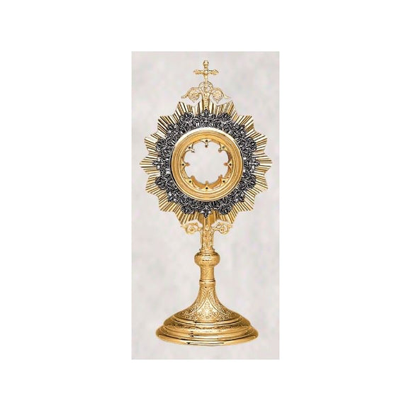 10-430SP Floral Wreath Monstrance