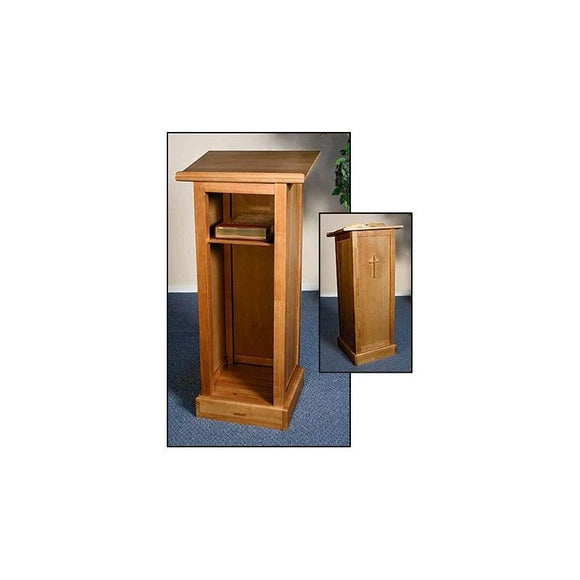 Christian Brands RSGS017 Full Lectern with Shelf