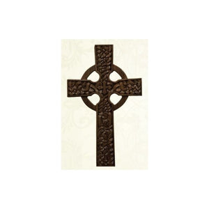 15CEL Hand Carved Celtic Cross