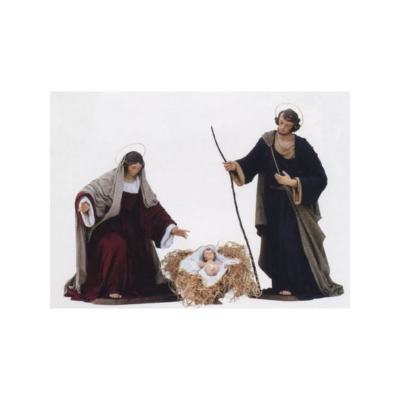 Nativity - Wood Carved