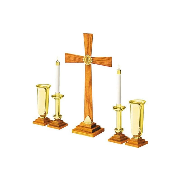 RW-SO Solid Oak Altar Set