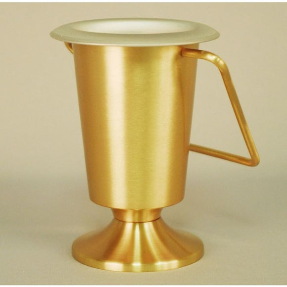 Ziegler | Style 643 | Holy Water Bucket |Satin Bronze Finish | Lent and Easter