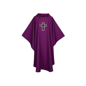 G7071 Chasuble  Design on Front and Back