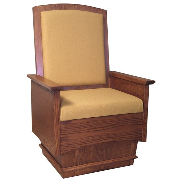 CELEBRANT CHAIR,Woerner Wood Stain Colors,Woerner Fabric Colors
