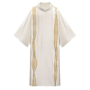 White (Lined) Dalmatic