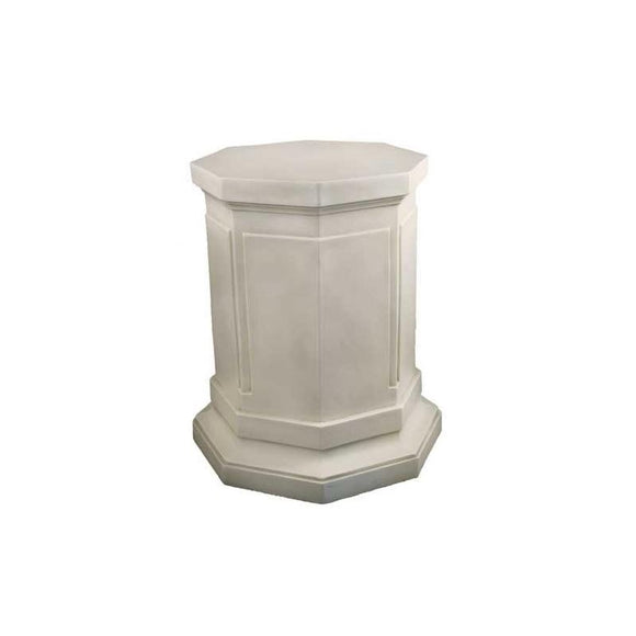 F317 Eight Sided Pedestal