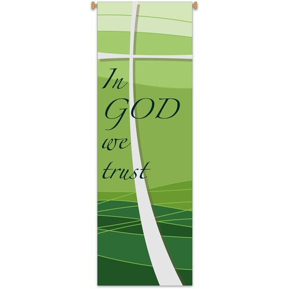 "Banner ""In God We Trust""-1,Banner ""In God We Trust""-2"