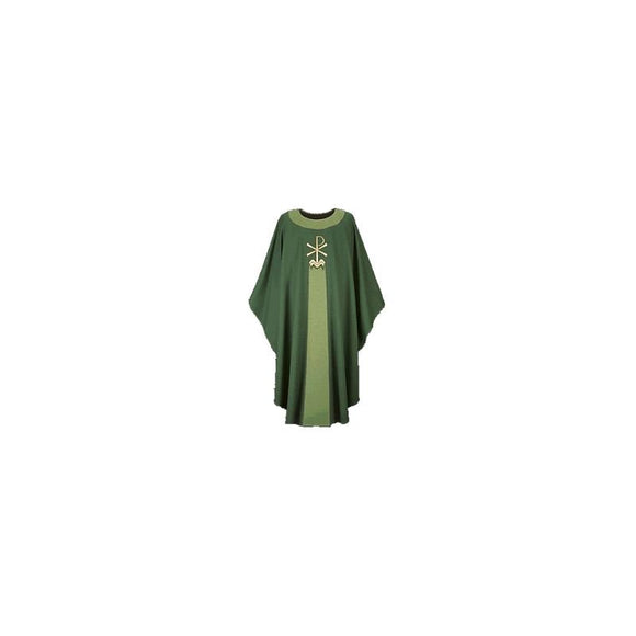 Dark Green Gothic Chasuble-1