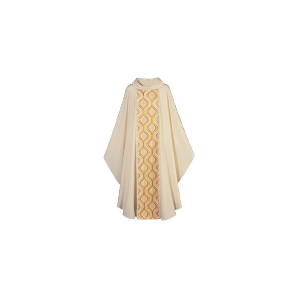 Beige Gothic Chasuble-1