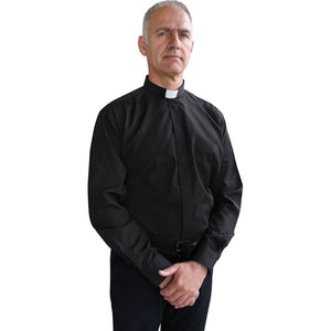 Assisi clergy shirt with long sleeves L-1