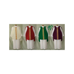 Beau Veste 956-S Roman Chasuble Set  Green