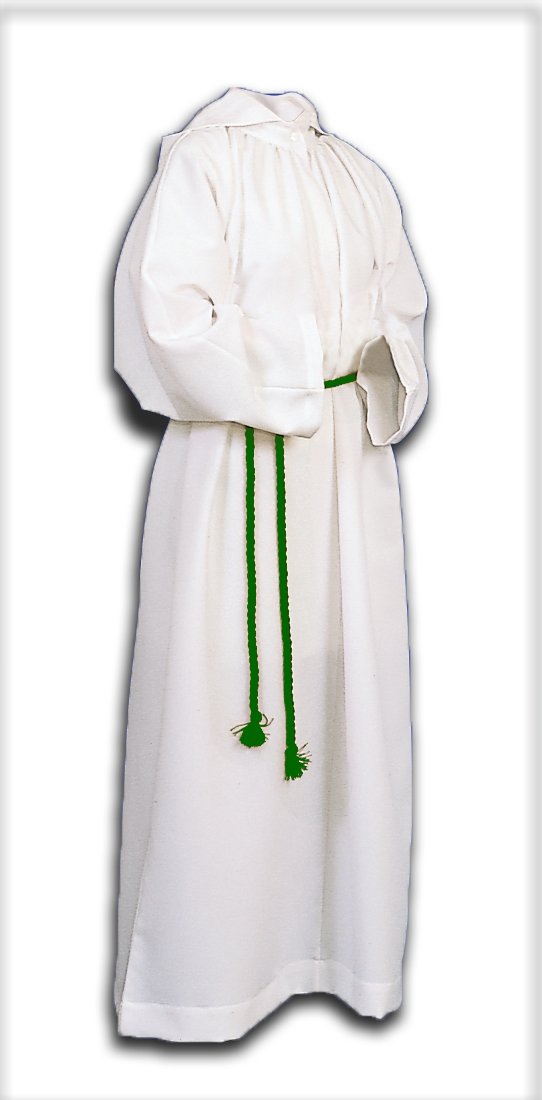ALTAR SERVER ALB - STYLE 205 With Hood