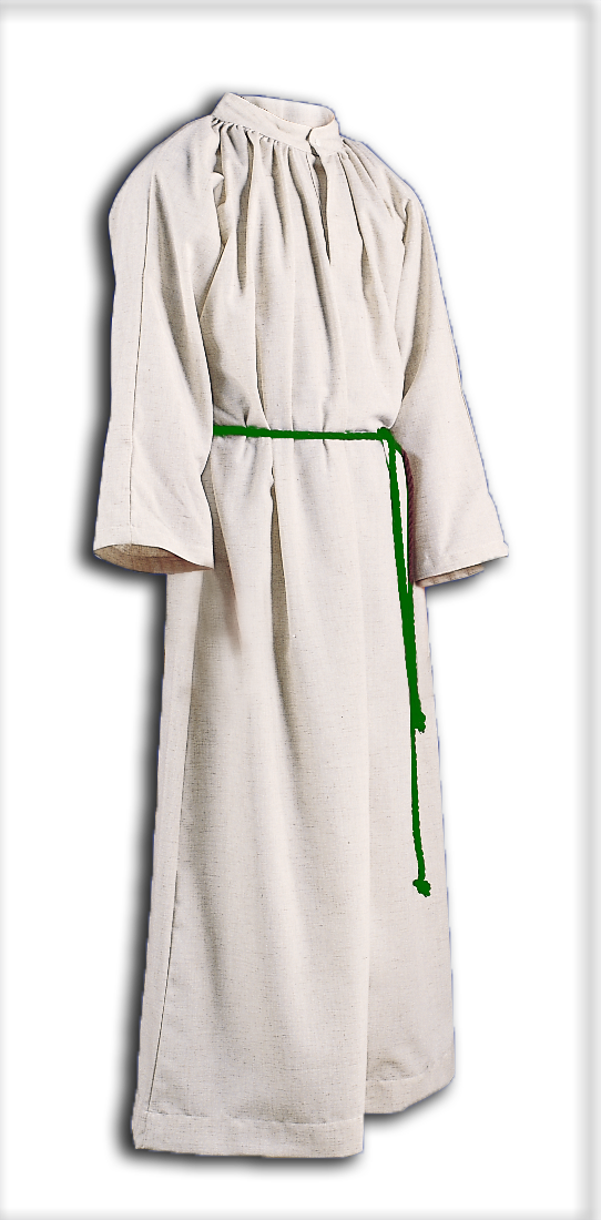 ALTAR SERVER ALB - STYLE 210 With Hood