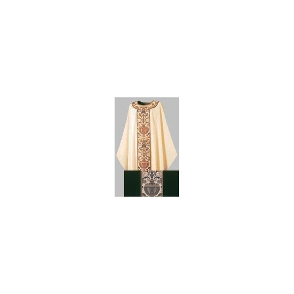 Dark Green Gothic Chasuble