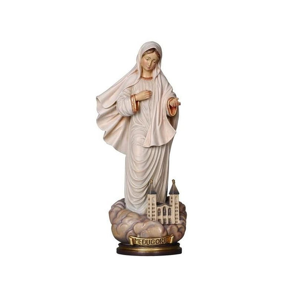 196000 Our Lady of Mejugorie Statue