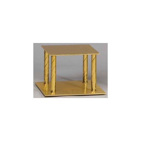 Ziegler | Style 954 | Thabor Table | Solid Brass | Square