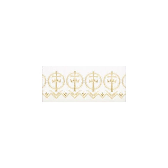 Beau Veste 6002 Cross and Crown - Altar Cloth
