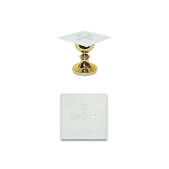 White Chalice pall-1