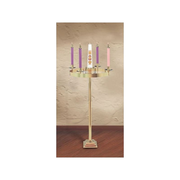 Christian Brands SB1000 Solid Brass Advent Wreath