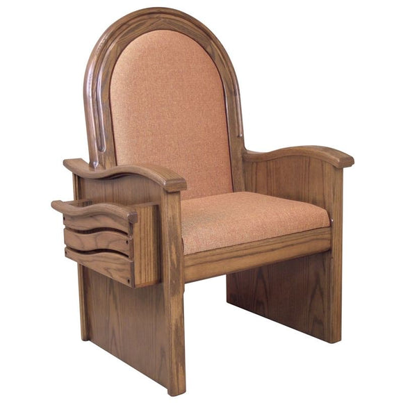CELEBRANT CHAIR 688,CELEBRANT CHAIR 688,Woerner Wood Stain Colors,Woerner Fabric Colors