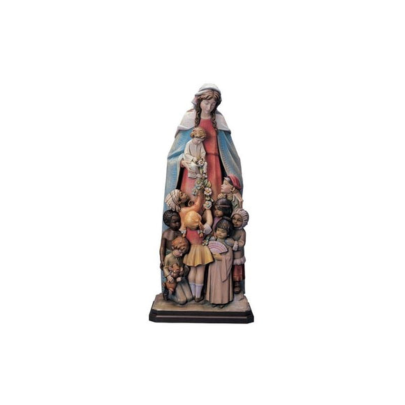 780-34FR Blessed Mother - Wood or Fiberglass Statue