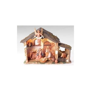 54567 6 PC LIGHTED NATIVITY SET