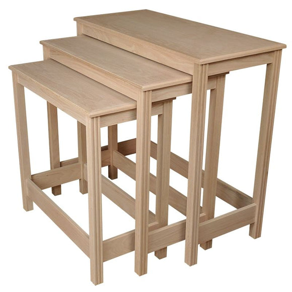 NESTING TABLE SET,Woerner Wood Stain Colors