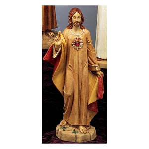 "43144 20""SACRED HEART Statue"