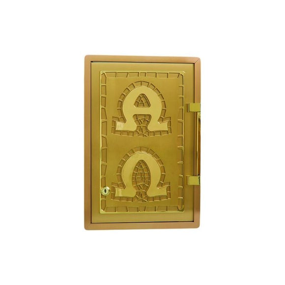Ziegler | Style B | Alpha and Omega | Tabernacle | All Brass