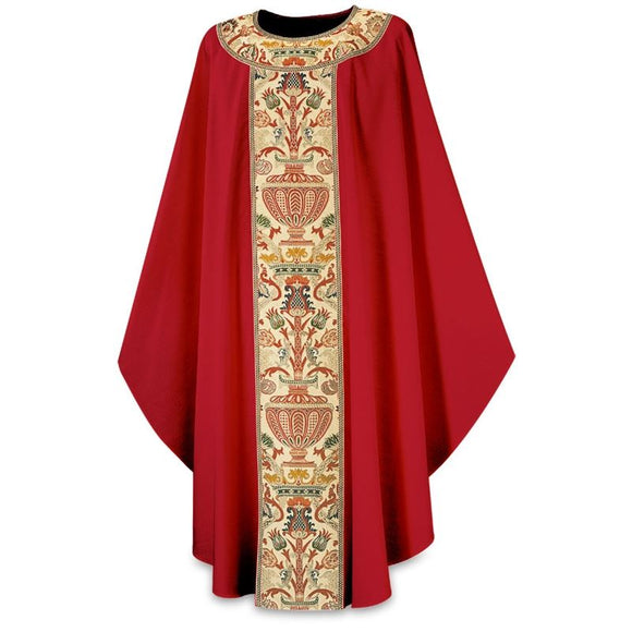 Red Gothic Chasuble-1