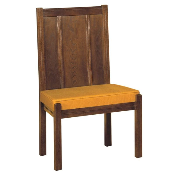 COMMUNION CHAIR,Woerner Wood Stain Colors,Woerner Fabric Colors