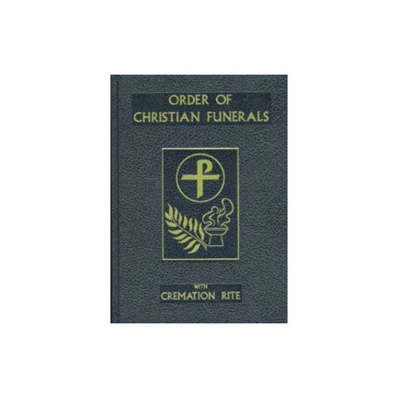 350/22 Order of Christian Funerals (Blue Cloth)