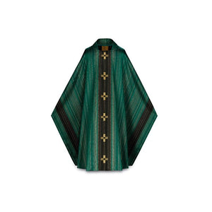 Green Monastic Chasuble-1