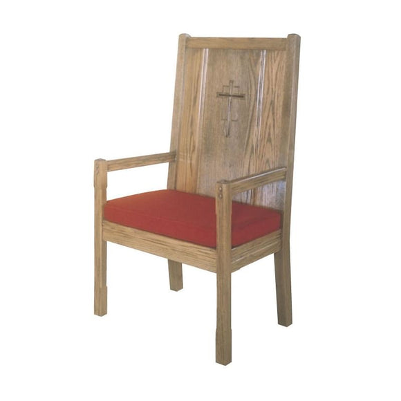 HIGH BACK CHAIR,PADDED BACK,Woerner Wood Stain Colors