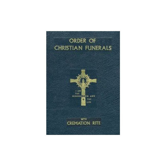 350/13 Order of Christian Funerals (Blue Leather)