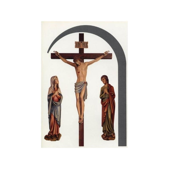 Crucifix - Wood Carved