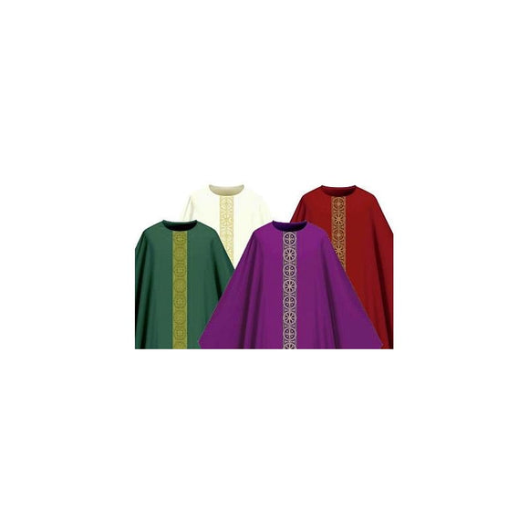 Set of four Assisi chasubles-1