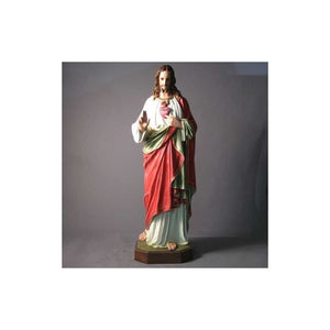 F6627 Sacred Heart of Jesus Statue