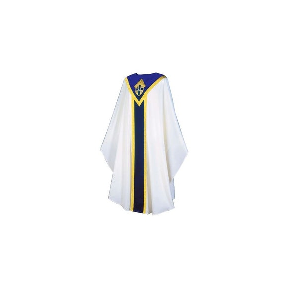 White Chasuble from the Springfield diocese set-1