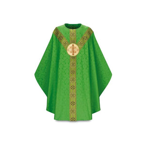 Green Gothic Chasuble-1
