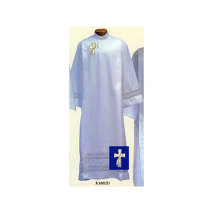Beau Veste K4882D Front Wrap Deacon Cassock Alb  Ample Cut  Button