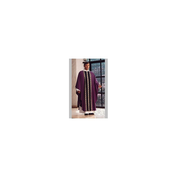 Purple Gothic Chasuble-1
