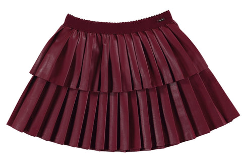 4909-16 Mayoral Mini Girls Ruby Leatherette 2y