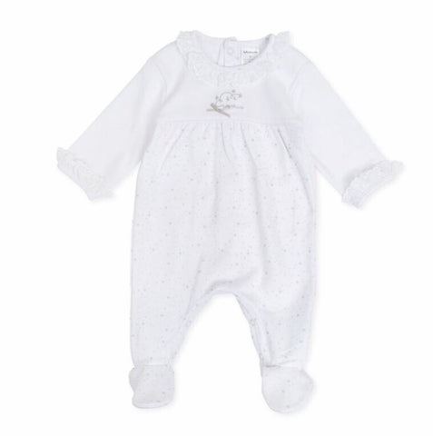 TP7190 Tutto Piccolo Optical White Babygrow 0,1, & 3m
