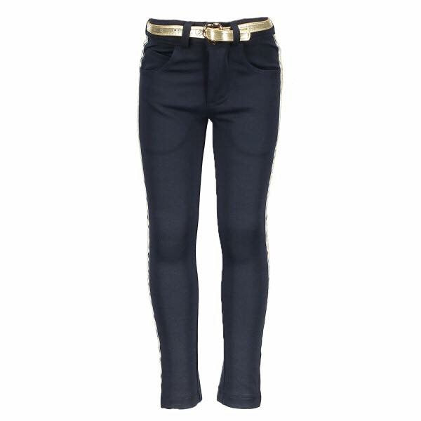 5610 Le Chic Navy & Gold Jeggings 4/5y