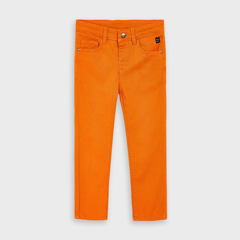 41-10 Mayoral Mini Boy Cheddar Regular Fit Chino