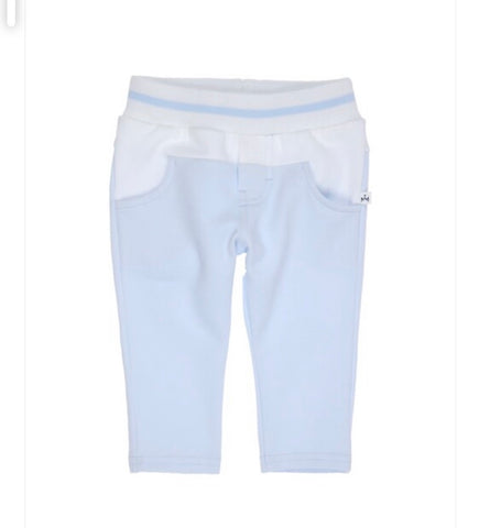 1286-20 Gymp Light Blue & White Trousers.  In stock